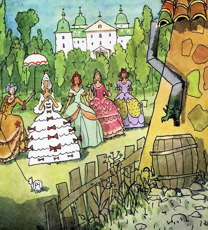 Свинопас сказка с иллюстрациями